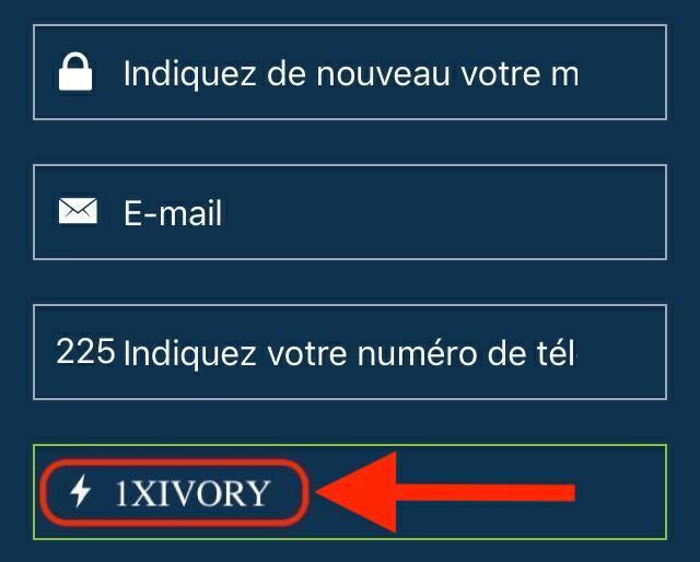 Comment s'inscrire avec e-mail