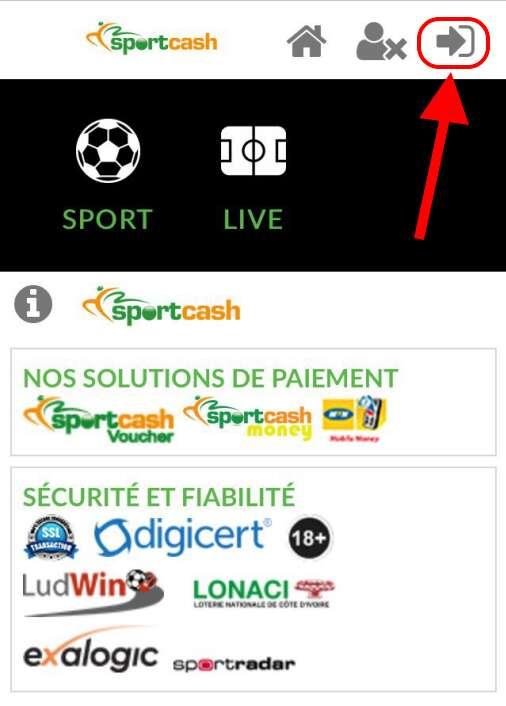 Accueil Accueil sportcash